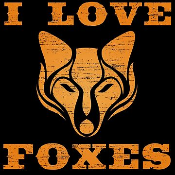 I love foxes by S-p-a-c-e