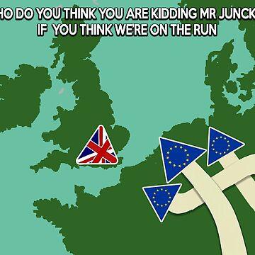 EU Brexit Shirt by markstones