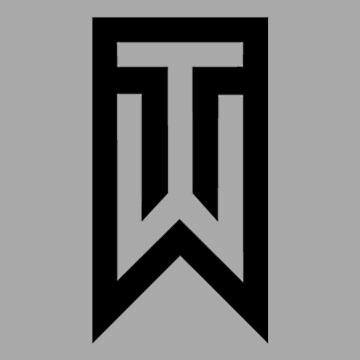 tiger woods logo by izassiko