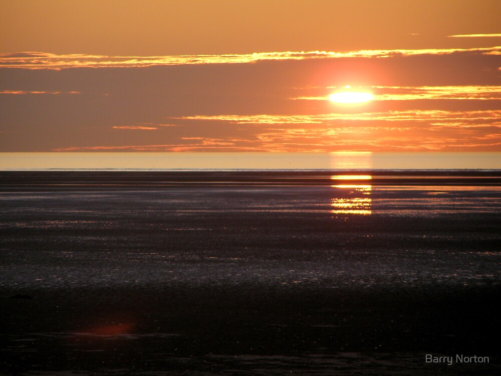 Sunset St Annes 5/10/09 by Barry Norton