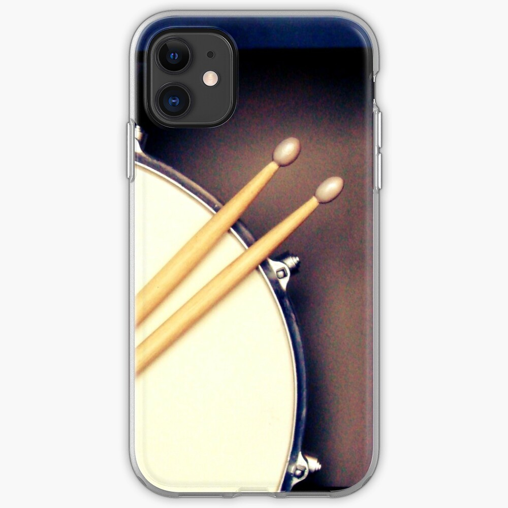 Drums, Drum stickers  iPhone Case & Cover