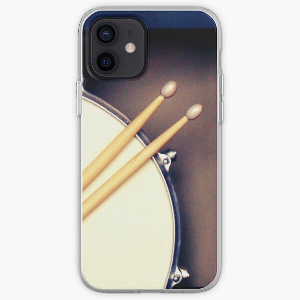 Drums, Drum stickers  iPhone Soft Case