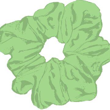 «Chouchou vert» par hammoudclaudia