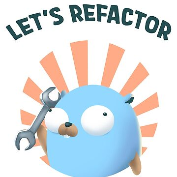 Golang Gopher Refactor Code by clgtart