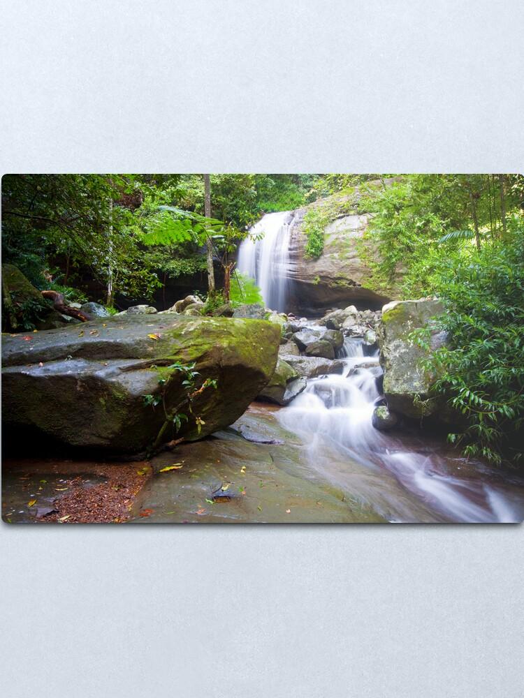 Alternate view of Serenity Falls Metal Print