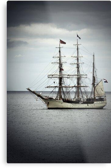 French tall ship, Irelnd by Monica Di Carlo