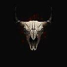 Buffalo Skull Horn by grafoxdesigns