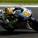 Valentino Rossi by Michael Rowley