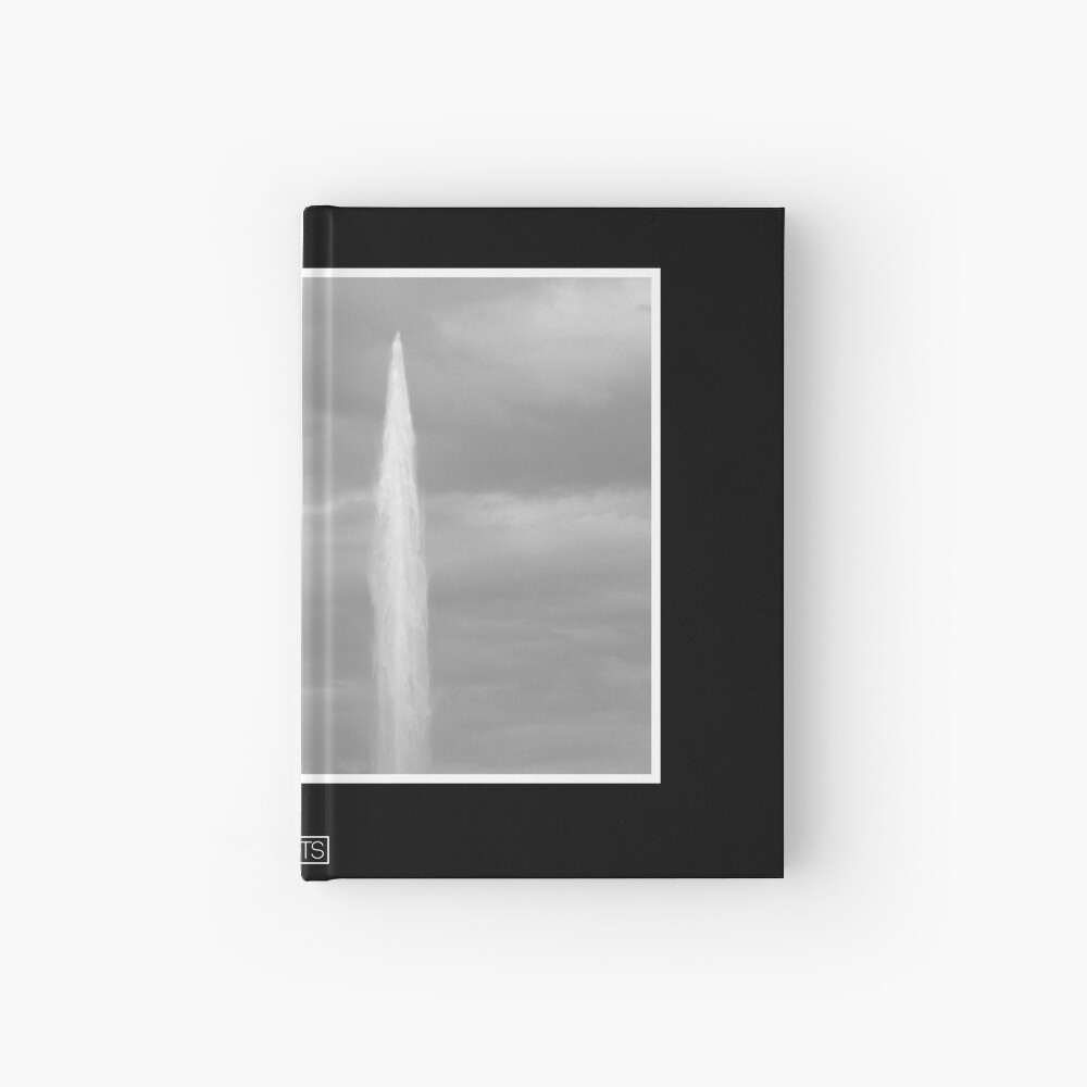 Geneva Jet d'Eau Hardcover Journal