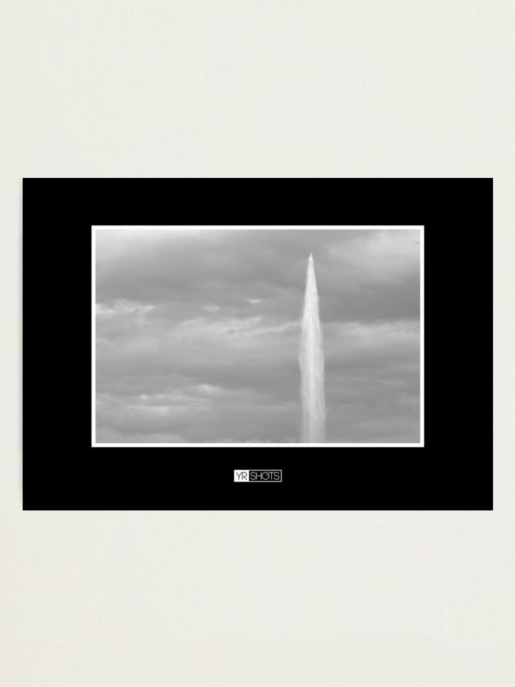 Alternate view of Geneva Jet d'Eau Photographic Print