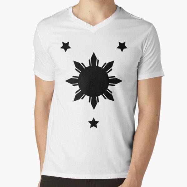 Tatak Pinoy 1 V-Neck T-Shirt