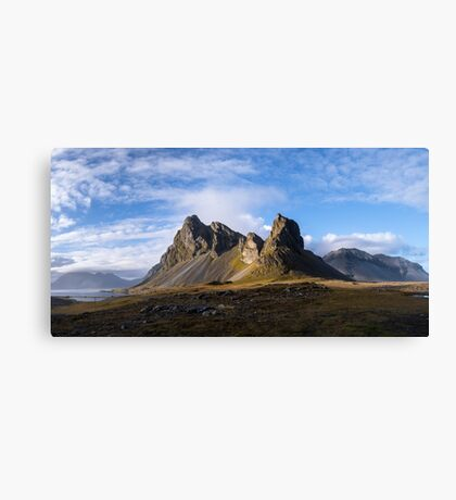 Iceland - Eystrahorn Canvas Print