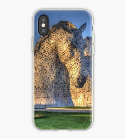 The Kelpies, Helix Park , Falkirk iPhone Case