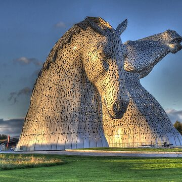 The Kelpies, Helix Park , Falkirk by goldyart