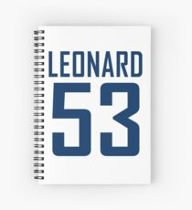 LEONARD 53 Spiral Notebook
