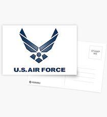 U.  S. Air Force Symbol Postcards