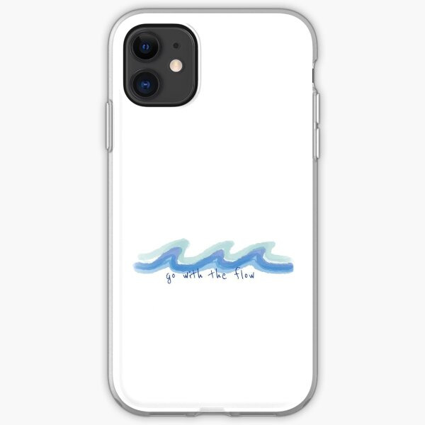 Go With The Flow iPhone Soft Case