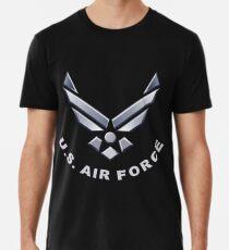 US Air Force Symbol für dunkle Farben Premium T-Shirt