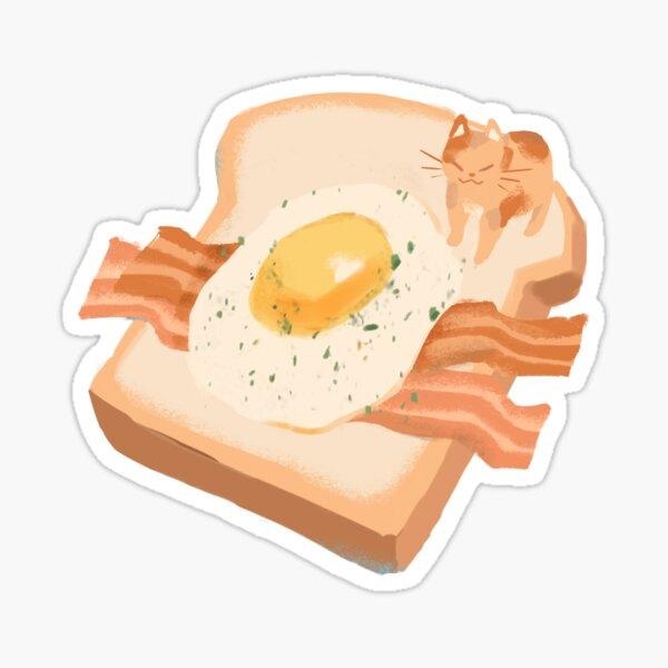 Cat Toast Sticker