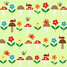 Meadow pattern by grafart