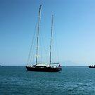 Sail boat by Dan Shiels