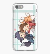 The Fox 'n the Wolf - Part 2 iPhone Case/Skin