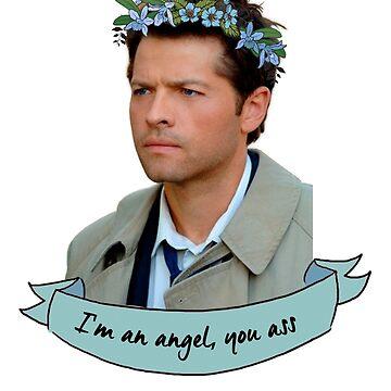 I'm an Angel, You Ass by nekhebit