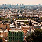 Paris Skyline form Sacre Coeur Church - Paris - France - 2018 by Buckwhite