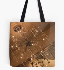 Wired Chandelier Tote Bag