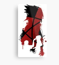 Sasuke and Itachi Metal Print