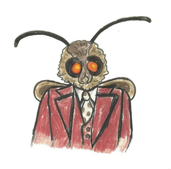 Moth Meme Mothman by Wild Green Memes Store