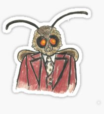 Moth Meme Mothman Sticker