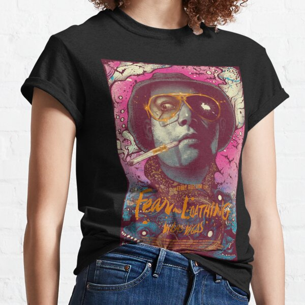 abstract fear and loathing  Classic T-Shirt