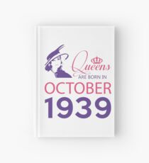 It's My Birthday 79. Made In October 1939. 1939 Gift Ideas. Hardcover Journal