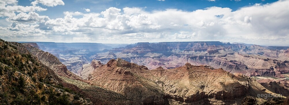 Grand Canyon Panorama by eegibson