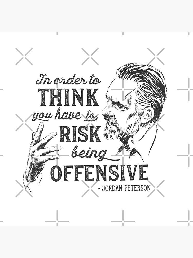 Ilustración y cita de Jordan Peterson de VerityVox