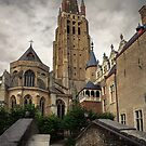 The Church of Our Lady Bruges by Ann Garrett