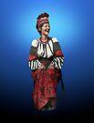 Woman in Hutsul Costume by Yuri Lev