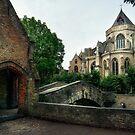 Bonifacius Bridge 2 Bruges by Ann Garrett