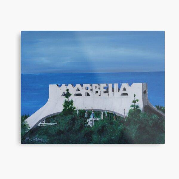 Marbella,Spain Metal Print