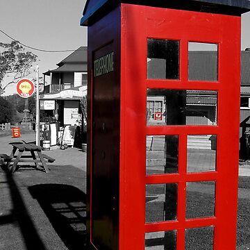 Tilba Tilba Telephone - NSW by ThinkinPictures