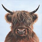 Highland Cow by lizblackdowding