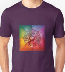 """Heart of Infinity"" - Mandala of Wealth and Balance Unisex T-Shirt"