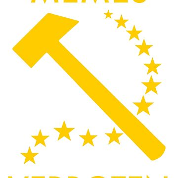 Memes Verboten - EU Hammer and Sickle by Joe-okes