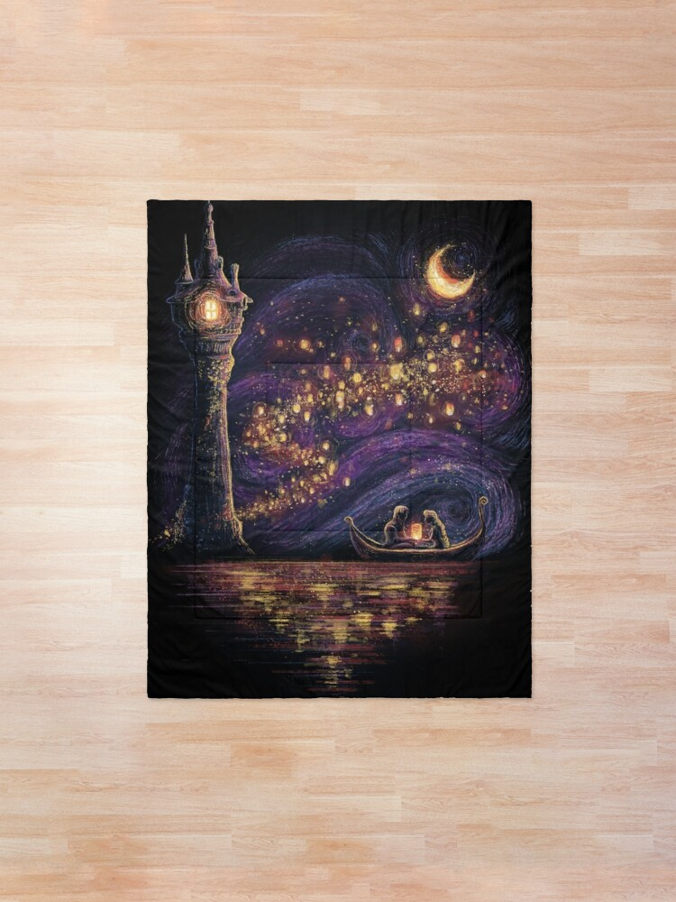 Alternate view of Lanterns Of Hope Comforter