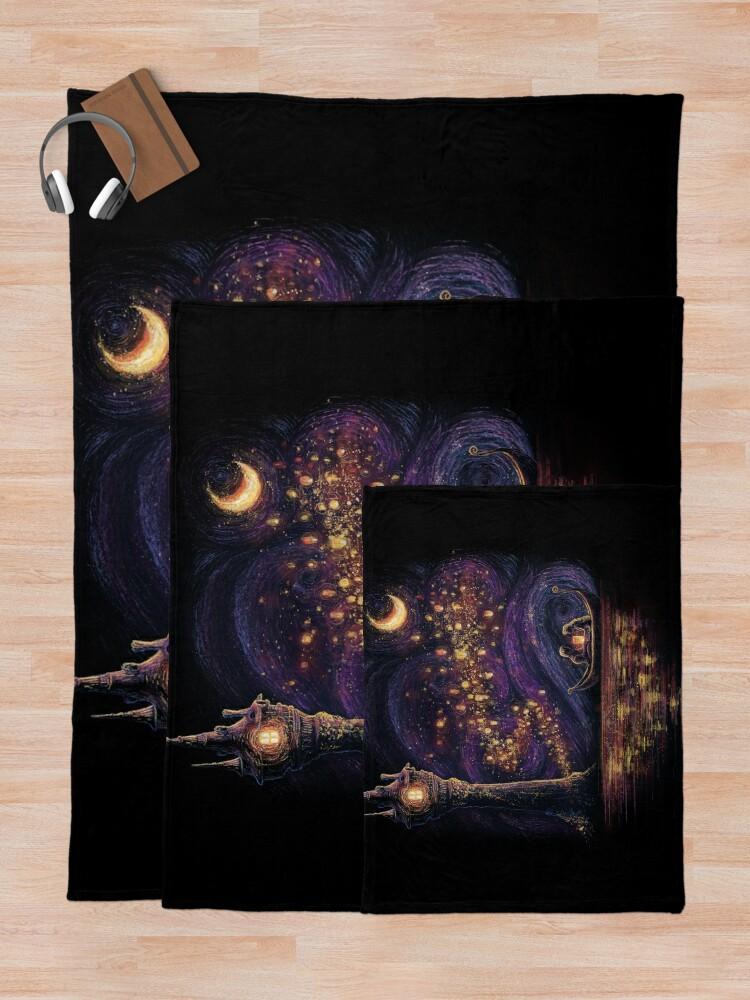 Alternate view of Lanterns Of Hope Throw Blanket