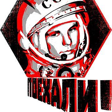 Yuri Gagarin - Let's Go! by Skady666