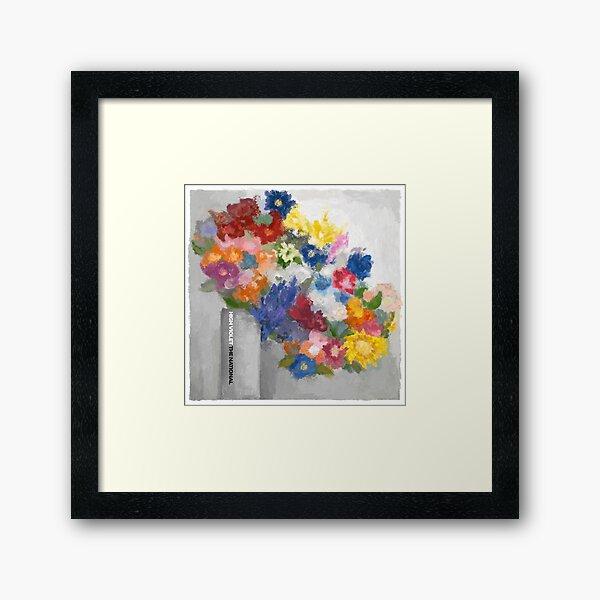 The National - High Violet Framed Art Print