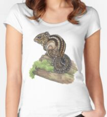 Chipmunk Fitted Scoop T-Shirt