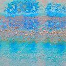 Blue Skin Peeling by Kasia-D